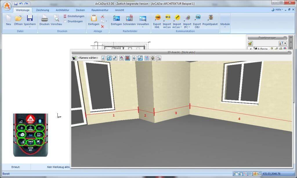 Entfernungsmesser Mit Bluetooth : Bosch professional glm c laser entfernungsmesser in st gallen